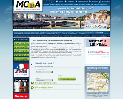 Immobilier Lyon, MC&A promoteur...