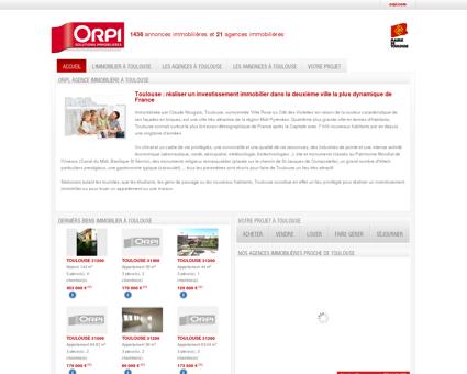 Biens immobiliers Toulouse, l'immobilier à...