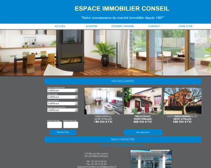 Espace Immobilier Conseil - Agence...