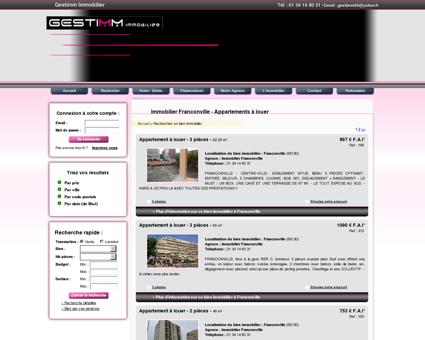 comparateur de services de location vente immobili re de franconville. Black Bedroom Furniture Sets. Home Design Ideas