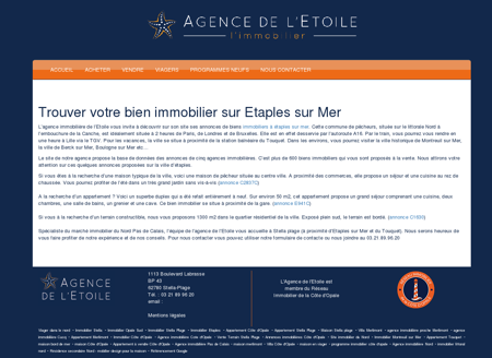 Immobilier à Etaples sur Mer  Agence...