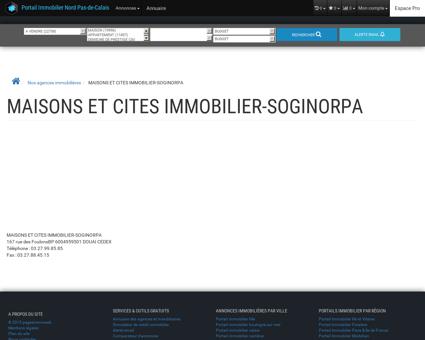 MAISONS ET CITES IMMOBILIER-SOGINORPA ...