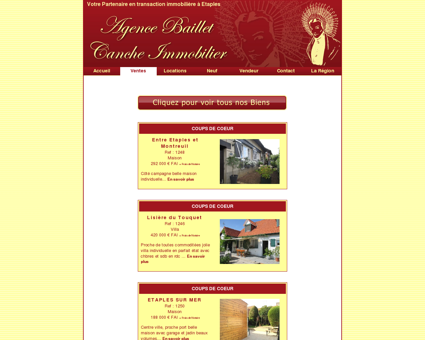AGENCE BAILLET - CANCHE IMMOBILIER...