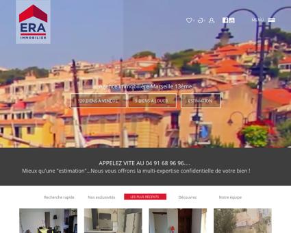 Immobilier Marseille 13 : Achat et vente...