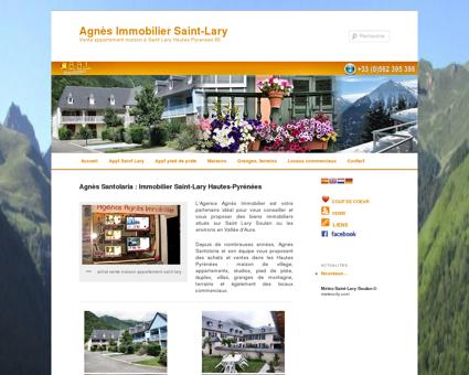 Agnès Immobilier Saint-Lary   Vente...