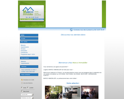 - AGENCE MARCO IMMOBILIER -