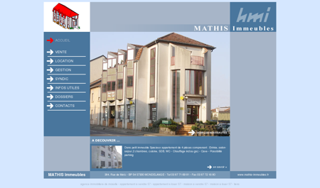 Agence immobiliere Moselle 57. Immobilier...