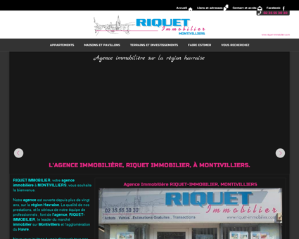 Riquet Immobilier - Agence immobiliere...