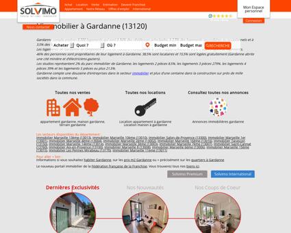 Immobilier Gardanne Solvimo