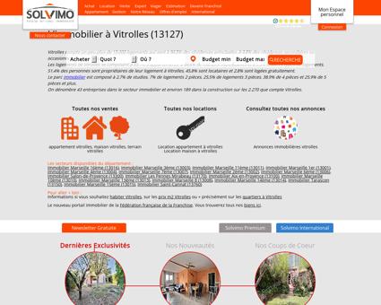 Immobilier Vitrolles Solvimo
