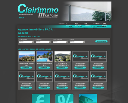 Agence immobilière Clairimmo