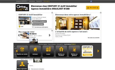 Agence immobilière GRAULHET CENTURY 21...