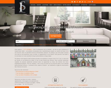 Agence immobilière de Douai - I & S Immobilier
