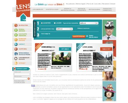 Lens Immobilier - Agence Immobilière à...