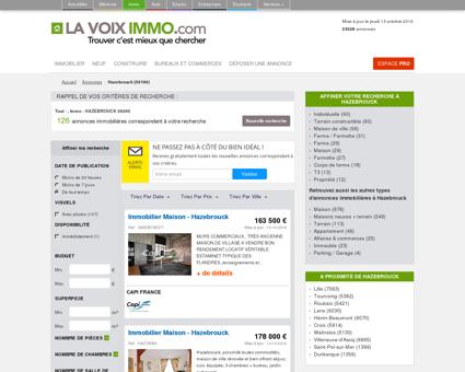 Immobilier Hazebrouck (59190), toutes les...