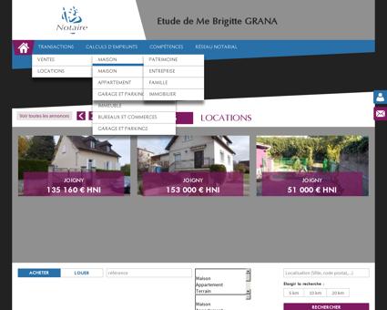 Immobilier Joigny Cedex (89) | Notaire | Etude...