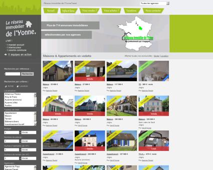 Immobilier Yonne 89 - vente & location de...