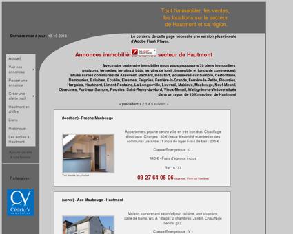 Hautmont Immobilier - Annonces immobiliere...