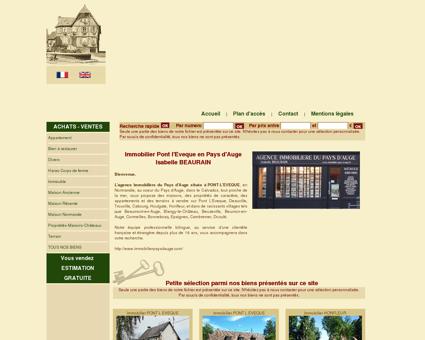 Immobilier Pont l'Eveque, maisons, propriétés,...
