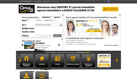 Agence immobilière LACROIX FALGARDE...