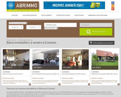 Biens immobiliers à vendre à Comines -...