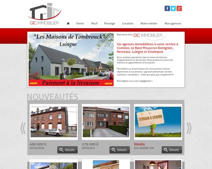 GIC Immobilier : Agences immobilières...