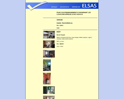 ELSAS - Banque - Assurances - Immobilier