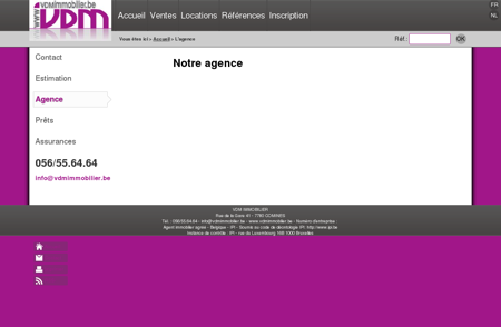 VDM IMMOBILIER : Immobiliere 7780...