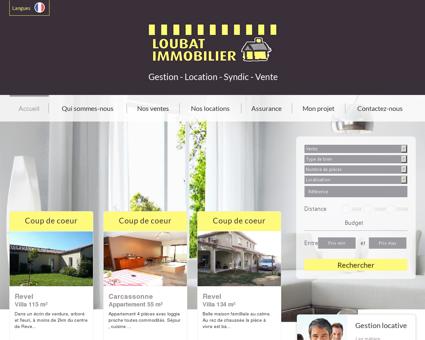 Loubat Immobilier Carcassonne,...