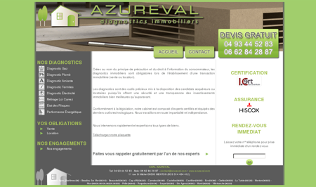 Diagnostic Immobilier - AZUREVAL