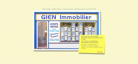 GIEN Immobilier - Votre agence immobilière à...