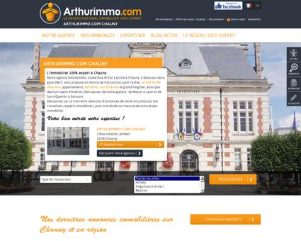 Agence immobilière à Chauny, vente et...