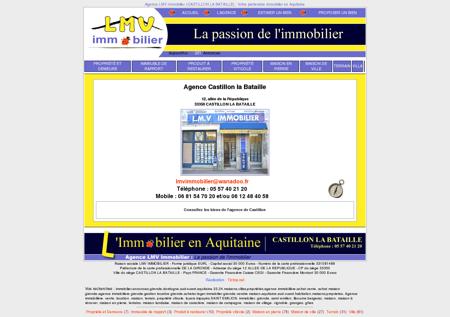 Agence immobilière LMV-IMMOBILIER à...