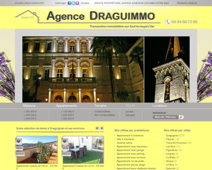 Immobilier Draguignan Appartement Maison...