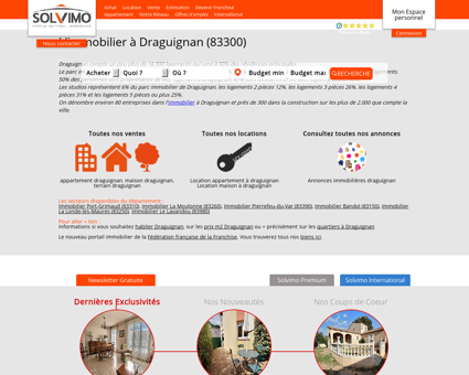 Immobilier Draguignan Solvimo