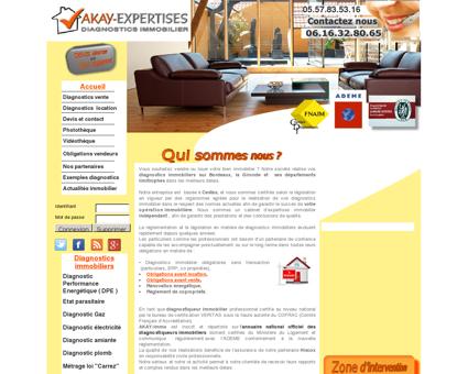 Diagnostic immobilier 33610 cestas ( gironde )