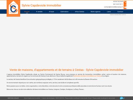 Vente de biens immobiliers sur Cestas - Sylvie...