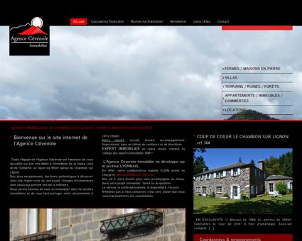 Agence Immobilier Le Chambon sur Lignon en...