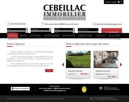 Cebeillac Immobilier Clermont Ferrand et...
