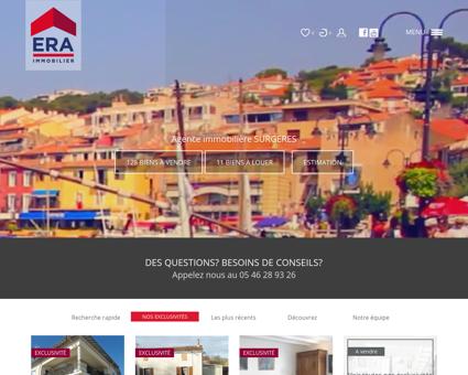 Immobilier Surgeres : Achat et vente...