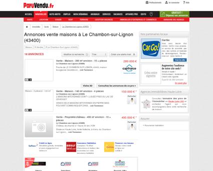 Vente maison à Le Chambon-sur-Lignon...