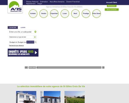 Avis immobilier St Gilles Croix De Vie