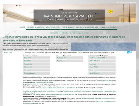 Achat vente immobilier de caractère Seine...