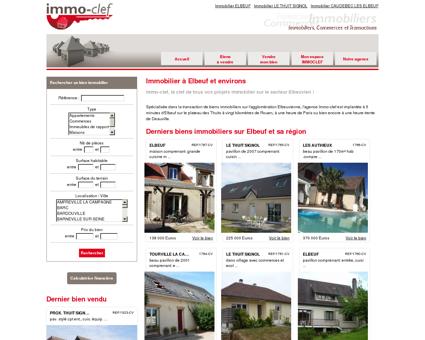 Immobilier sur Elbeuf et sa région - Agence...