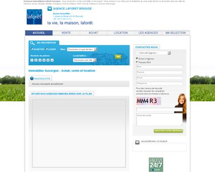 Laforêt Immobilier Auvergne : de nombreux...