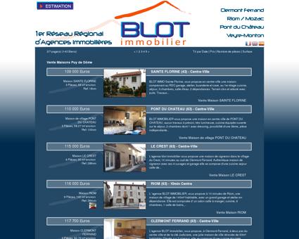 Vente Maisons Puy de Dôme | Blot Mozac...