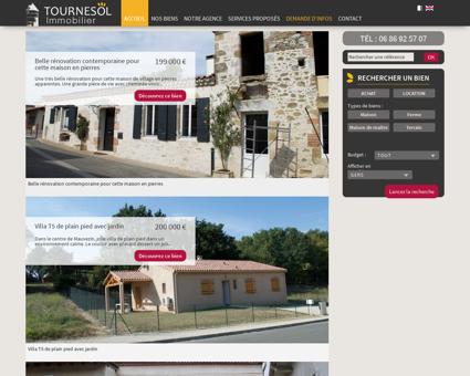 Tournesol Immobilier : agence immobilière à...