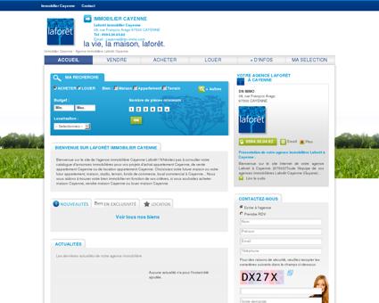 Immobilier Cayenne - Agence immobilière à...
