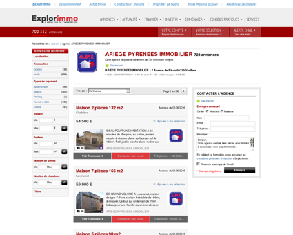 ARIEGE PYRENEES IMMOBILIER : agence...