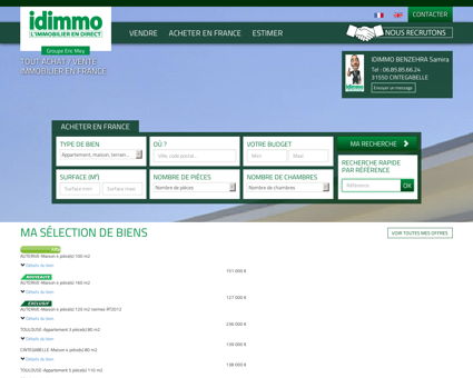 immobilier Toulouse et sa région | IDIMMO...